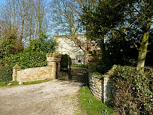 Crayke Castle - Gates to Crayke Castle