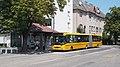Credo BN 18, 'Mátyás király tér' bus stop, 2018 Győr.jpg