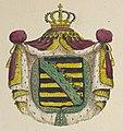 Crest in 1857 detail, Wandkarte vom Königreiche Sachsen 09 (cropped).jpg