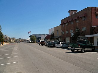 National Register of Historic Places listings in Okaloosa County, Florida - Image: Crestview Main St Hist Dist 01
