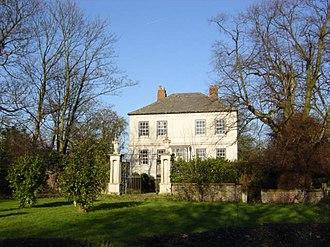 Civil parishes in Merseyside - Image: Cronton Cronton Hall