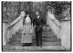 Crown Prince of Germ. and wife at Oels LCCN2014716736.jpg