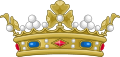Crown of a Marquis of France (variant).svg