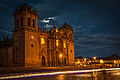 Cusco Peru Night City Cathedral.jpg