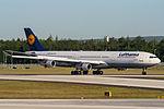 D-AIGB Lufthansa Airbus A340-311 @ Frankfurt - Rhein-Main International (FRA - EDDF) - 22.05.2012 (17307211846).jpg