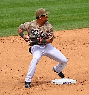 Eric Patterson - Patterson with the San Diego Padres