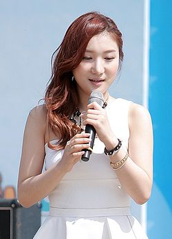 DIA (Lee Ji-eun) from Bella at the Incheon Festival, May 2013 01.jpg