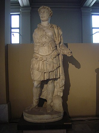 Tiberius Julius Celsus Polemaeanus - A marble statue of Celsus, currently in the Istanbul Archaeological Museum