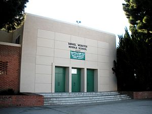 Asahi Gakuen - Daniel Webster Middle School, the Westside class location
