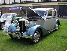 Daimler Fifteen sports saloon 1937 7488621694.jpg