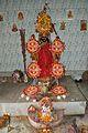 Dakshina Kali - Jaan Bari - 10-1-1 Ram Kumar Bhattacharjee Lane - Chakraberia - Howrah 2014-11-04 0242.JPG
