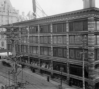 Daly Building - An early image of the Daly Building.