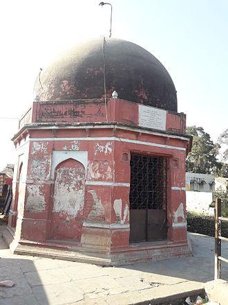 Savli - Damajino Dero, a memorial cenotaph dedicated to Damaji Rao Gaekwad