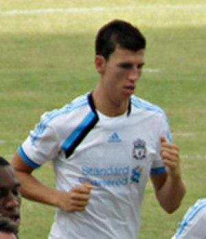 Daniel Ayala - Ayala training with Liverpool in 2011