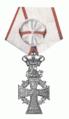 Dannebrogordenens Hæderstegn Regering van Margarethe II van Denemarken.png