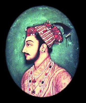 Dara Shukoh - A Mughal miniature painting of Crown prince Dara Shikoh