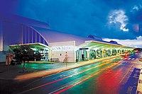 Darwin Airport at night