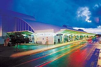 Аэропорт Дарвина ночью