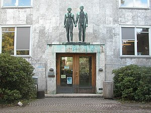 UCPH Department of Computer Science - The entrance