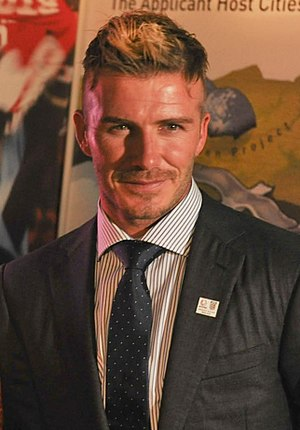 "Metrosexual - David Beckham, described as ""the biggest metrosexual in Britain"" in Simpson's 2002 article that led to the term's popularity"