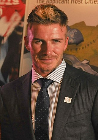 Professionalism in association football - David Beckham, an English retired professional footballer with a net worth of US$ 300 million
