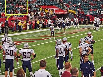 2005 New England Patriots season - Image: David Givens, Tully Banta Cain, etc
