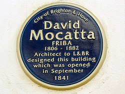 David mocatta friba 1806 1882 architect to l%26br designed this building which was opened in 1841