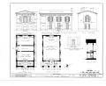Davidson College, Philanthropic Hall, Davidson, Mecklenburg County, NC HABS NC,60-DAVSO,1B- (sheet 1 of 2).png