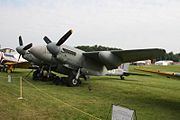 De Havilland Mosquito RS712 at 2010 Oshkosh Air Show Flickr 4862585476.jpg