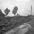 De platgebrande Chinese wijk van Bandoeng, Bestanddeelnr 255-8407.jpg