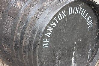 Deanston distillery - Deanston distillery barrel
