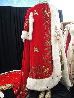 "René Hubert (costume designer) - Design for Marlon Brando in Désirée (1954) - ""Napoleon Bonaparte"" coronation costume"