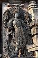 Decorated Dvarapala Hoysaleswara Temple Halebid (2).jpg