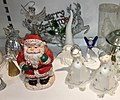 Decorative Santa and angel figurines etc. (nisse- og englefigurer) Fretex (charity thrift shop) Lars Hilles gate, Bergen, Norway, 2017-11-01 f.jpg