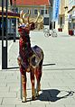 Deer on Rathausplatz Herzogenburg 01.jpg