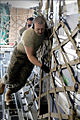Defense.gov News Photo 110312-F-MG591-106 - Airmen from the 89th Aerial Port Squadron load pallets onto a C-17 Globemaster III aircraft at Joint Base Andrews Md. on March 12 2011. Air.jpg