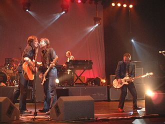 Del Amitri - The 1997–2002 Del Amitri line-up on stage at the Guildhall in Southampton on 16 May 2002