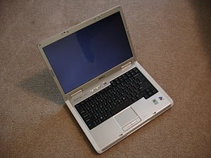 Photo of a Dell XPS M140 Laptop.