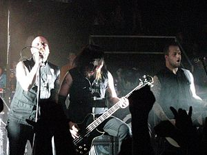 Demon Hunter - Demon Hunter performing at Red Letter Rock Festival in 2008