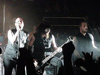 Demon Hunter - Demon Hunter performing at Red Letter Rock Festival in 2008