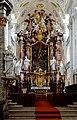 Der barocke Hochaltar im Kloster Schöntal. 02.jpg