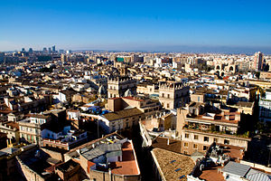 Ranked lists of Spanish municipalities - Valencia