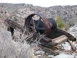 Desert Queen Mine - Image: Desert Queen Winch 2