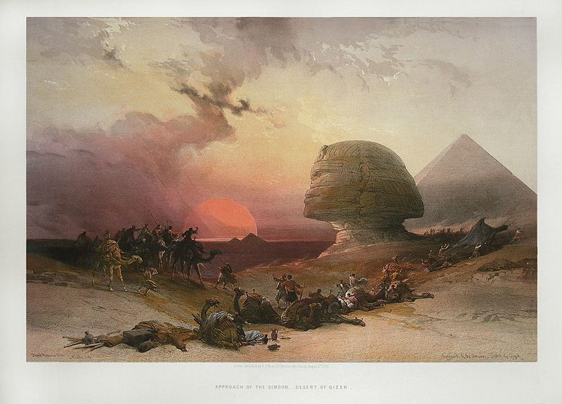 File:Desert of Gizeh by David Roberts.jpg