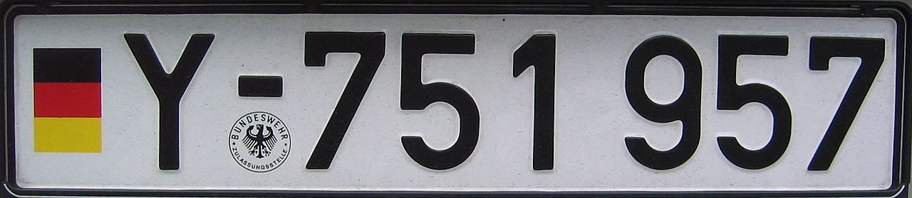 Kennzeichen Bundeswehr