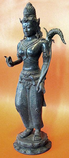 Berkas:Dewi Sri Java Bronze.jpg