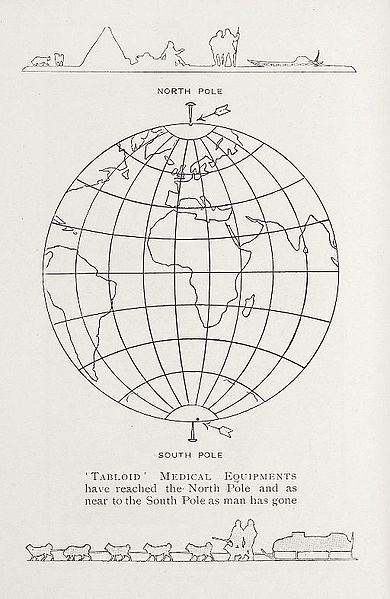 Filediagram Of The Globe Showing Tabloid Usage Wellcome L0033325