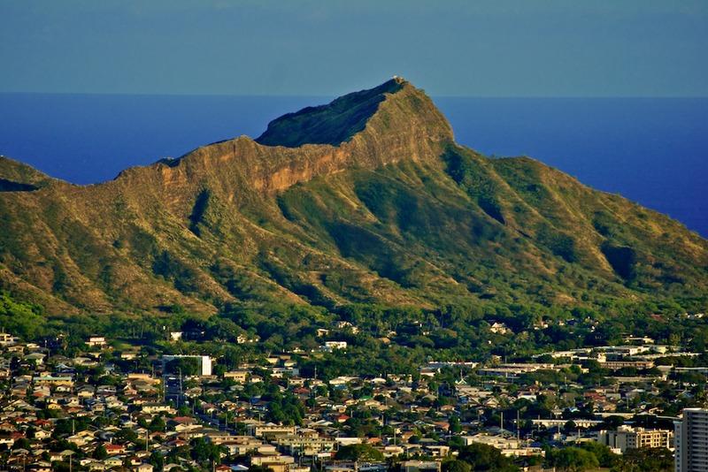 File:Diamond Head Crater from Ualaka'a Overlook, Honolulu, Hawaii.tiff
