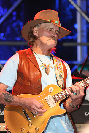 English: Dickey betts at the Pistoia Blues Fes...