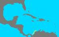 Diplobatis colombiensis range map.png